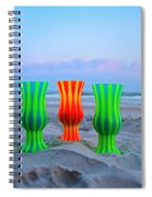 Topsail Hurricane Glasses Spiral Notebook