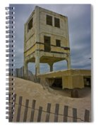 Topsail Island Observation Tower 6 Spiral Notebook