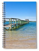 Topsail Island Sound Spiral Notebook