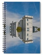 Topsail Island Tower Reflection Spiral Notebook