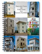 Topsail Island Towers Spiral Notebook