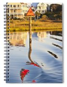 Topsail Sound Sunset Spiral Notebook