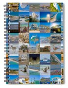 Topsail Visual Contemporary Quilt Series I Spiral Notebook