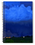 Tornado Over Madison 4 Spiral Notebook
