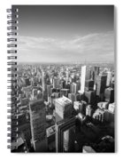 Toronto From Above Spiral Notebook