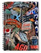Toronto Pop Art Montage Spiral Notebook