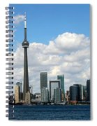 Toronto Skyline 10 Spiral Notebook
