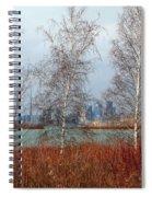 Toronto Skyline 14 Spiral Notebook