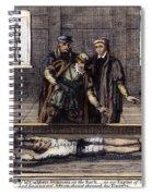 Torture, 16th Century Spiral Notebook