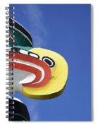 Totem Pole 10 Spiral Notebook