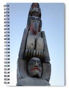 Totem Pole 14 Spiral Notebook
