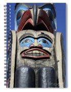 Totem Pole 8 Spiral Notebook