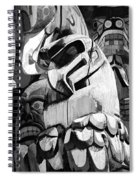 Totem Poles On Vancouver Island Spiral Notebook