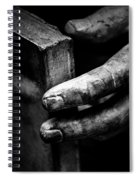 Touching The Book Spiral Notebook