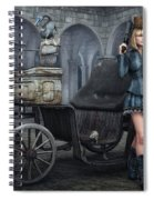 Tough Lady Spiral Notebook
