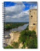 Tour Du Moulin And The Loire River Spiral Notebook