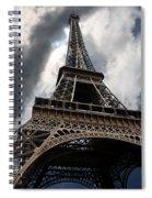 Tour Eiffel Spiral Notebook