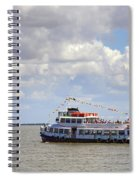 Touring Boat Spiral Notebook