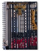 Tourists At Changing Of The Guards Spiral Notebook