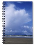 Tourists On The Beach, Inch Beach Spiral Notebook