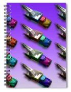Tow The Line Dance Spiral Notebook