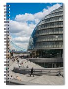 Tower Bridge With City Hall Spiral Notebook