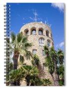 Tower In Puerto Banus Spiral Notebook
