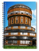 Tower That Inspired Metropolis Spiral Notebook