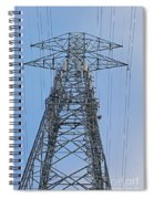Towers And Lines Spiral Notebook