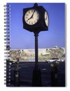 Town Clock Spiral Notebook