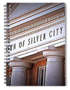 Town Of Silver City New Mexico Spiral Notebook