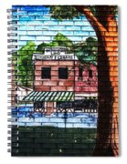 Town Wall Art Spiral Notebook