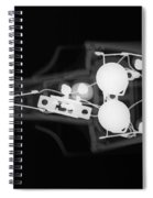 Toy Car X-ray Spiral Notebook