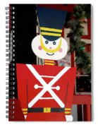 Toy Soldier Christmas In Virginia City Spiral Notebook