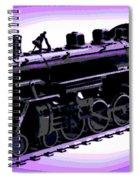 Toy Train Spiral Notebook