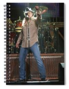 Trace Adkins Spiral Notebook