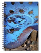 Tractor Seat Close Up Spiral Notebook