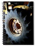 Tractor Tread Spiral Notebook