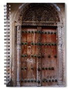 Traditional Carved Door Spiral Notebook