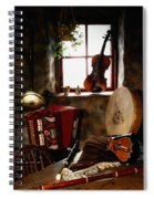 Traditional Musical Instruments, In Old Spiral Notebook