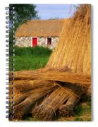Traditional Thatching, Ireland Spiral Notebook