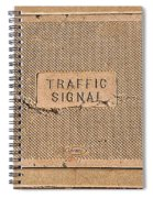 Traffic Signal  Spiral Notebook