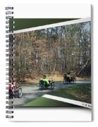 Trail Of Trikes Spiral Notebook