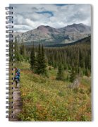 Trail Through Bear Country Spiral Notebook