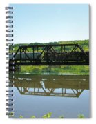Train And Trestle Spiral Notebook