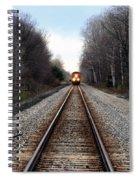 Train Head On Spiral Notebook