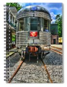 Train Of The Future Spiral Notebook