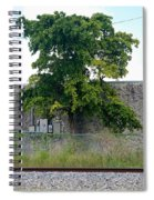 Train Tree Spiral Notebook