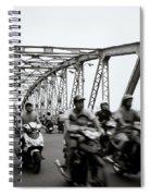 Trang Tien Bridge Hue Spiral Notebook