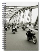 Trang Tien Bridge Spiral Notebook